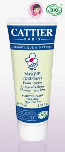 PURIFYING MASK - Cattier paris- organic cosmetic