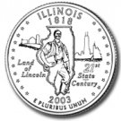 2003 Illinois State Quarter P & D Set