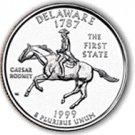 1999 Delaware State Quarter P & D Set