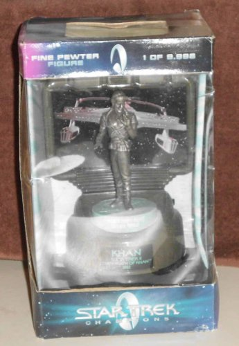 Wrath of Khan Fine Mint Pewter Sculpture Limited Numbered NIB