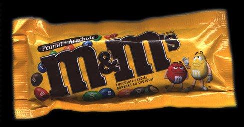 M&M Peanut Candies