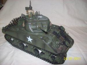 1:16 scale M4A3 Sherman tank