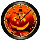 Halloween Pumpkin Wall Clock Fall Decor
