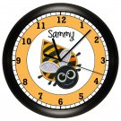 Bumble Bee Wall Clock Personalized