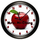 Classroom Wall Clock Personalized