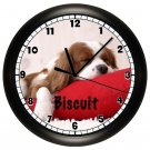 Personalized King Charles Cavalier Spaniel Wall Clock