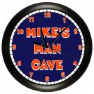Personalized Denver Bronco's Man Cave Wall Clock