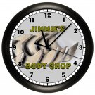 Personalized Workshop Garage Wall Clock Mechanic