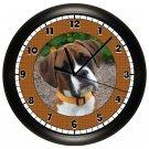 Boxer Wall Clock Dog Puppy Dog