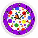 Decorative Polka Dots Wall Clock