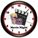 HOME THEATER WALL CLOCK