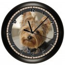 Yorkie Yorkshire Terrier Wall Clock