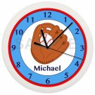 BASEBALL Personalized Wall Clock