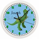 Personalized Toy Rex Toy Story Wall Clock