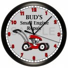 Lawn Mower Wall Clock Personalized