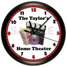 Personalized Movie Night Wall Clock