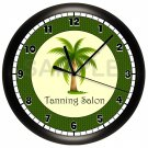 TANNING SALON WALL CLOCK SUN