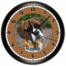 Boxer Personalized Wall Clock