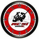 Honda RC51 Motorcycle Wall Clock