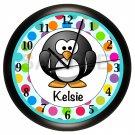 Penguin Children's Wall Clock