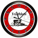 Triathlete Triathlon Wall Clock