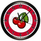 Cherries Kitchen Wall Clock