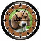 Beagle Wall Clock