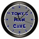 Personalized Dallas Cowboy's Man Cave Wall Clock
