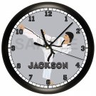 Martial Arts Karate Wall Clock