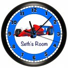 Race Car Wall Clock
