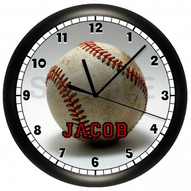 BASEBALL Personalized Wall Clock