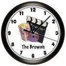 Movie Night Wall Clock