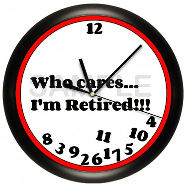 Retired Wall Clock