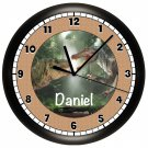 Dinosaur Wall Clock Personalized