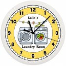 Laundry Room Wall Clock