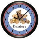 Personalized Teddy Bears Wall Clock