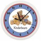 Personalized Teddy Bears Wall Clock Stuffed Bear