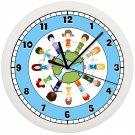 Children Around the World Wall Clock