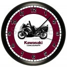 KAWASAKI CONCOURS WALL CLOCK MOTORCYCLE MOTORCYCLIST 2010-2014