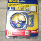 IRWIN DOOR LOCK INSTALLATION KIT NEW in package