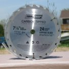 "Tool Shop Carbide tipped 7 1/4"" circular saw blade NEW"