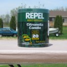 REPEL Citronella candle NEW  insect repellent 2 candle package
