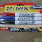 DRY ERASE markers Promarx 3 ct bullet tip NEW in package