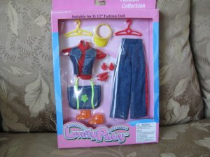 Lovely Patsy Barbie Doll clothes for 11 1/2 dolls  NEW in package