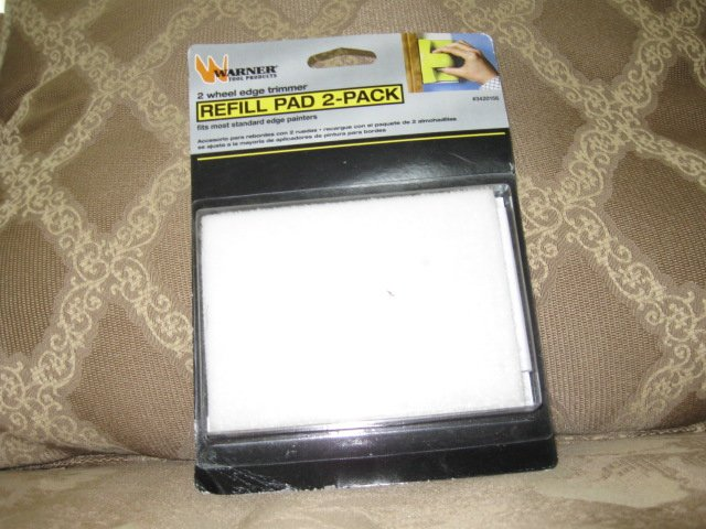 Refil 2 pad pack for Warner paint edge trimmer  NEW in package