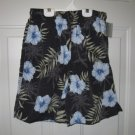 BReakwater Balck with light blue  boys swim trunks NEW with tag Size S  8