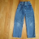 Legendary Gold medium blue denim Boys 5 pocket jeans Size 7 Straight leg