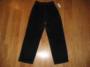 CATO KIDS BOYS SIZE 12 NAVY CORDUROY DRESS PANTS FLAT FRONT NEW WITH TAG