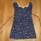 NO BOUNDARIES SIZE 4/5 navy print dress Short sleeve Girl's clothes