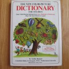 THE NEW COLOR PICTURE DICTIONARY  Hardcover Ages 3 - 10  1977 ISBN 0-8326-2214-1